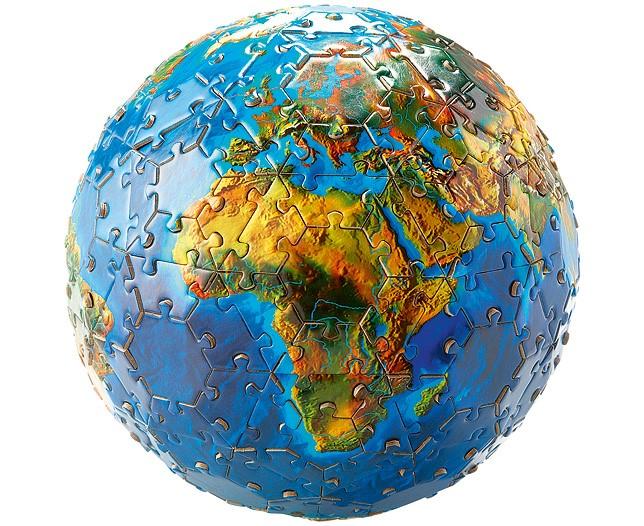 Global jigsaw