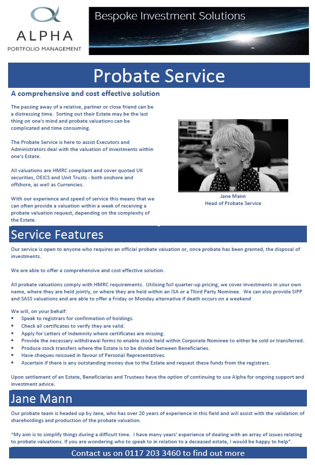 Probate Service - A comprehensive & cost effective solution