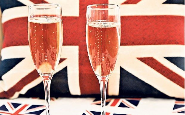 Cheers! Let's raise a glass to growth in popularity in British bubbly. Soon to be known as Hooray!