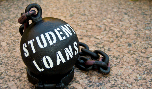 The average debt for a student upon graduation is now £50,000