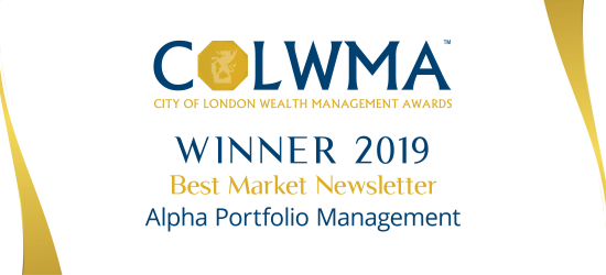 City of London Wealth Management Awards 2019 - Best Market Newsletter