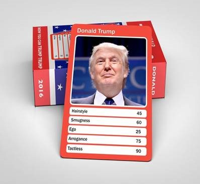 Trade War Top Trumps. Nuclear Weapons Top Trumps, Nuclear Weapons Top Trumps and now the Syria strike Top Trumps. China, North Korea, Syria and Russia.