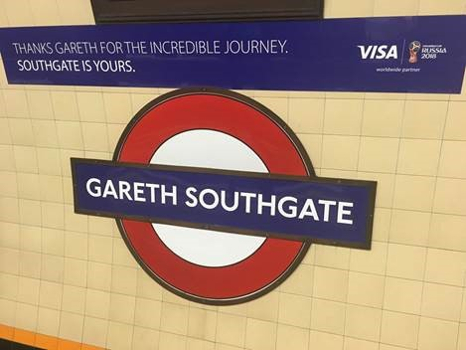 Transport for London has temporarily renamed a tube station after England manager Gareth Southgate. Coming home? Warning - Disruption ahead