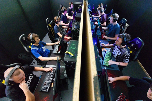 E-Sports and competitive gaming events